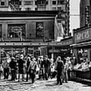 The Market At Pike Place Print by David Patterson