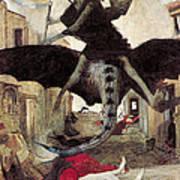 The Plague Print by Arnold Bocklin
