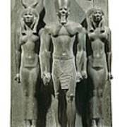 Triad Of Menkaure Mycerinus Print by Everett