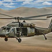 Uh-60 Blackhawk Print by Dale Jackson