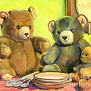 Waiting For Goldilocks Print by Joose Hadley