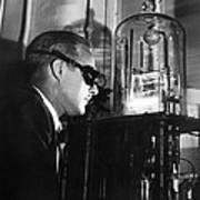 Walter Brattain, Us Physicist Print by Science Photo Library
