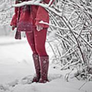 Winter... Print by Renata Vogl