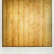 Wood Texture Print by Les Cunliffe