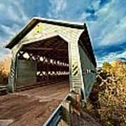 Wooden Covered Bridge  Print by Ulrich Schade
