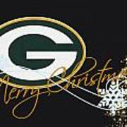 Green Bay Packers Print by Joe Hamilton