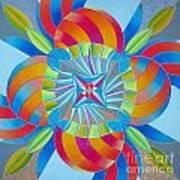 Mandala Print by Martin Zezula