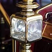 1907 Panhard Et Levassor Lamp Print by Jill Reger