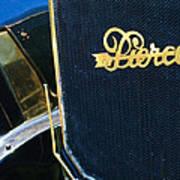 1916 Pierce-arrow 48 Phaeton Grille Emblem Print by Jill Reger