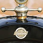 1922 Studebaker Touring Hood Ornament Print by Jill Reger