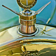 1923 Ford Model T Hood Ornament Print by Jill Reger