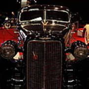 1934 Cadillac V16 Aero Coupe - 5d19875 Print by Wingsdomain Art and Photography