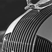 1935 Pontiac Sedan Hood Ornament 3 Print by Jill Reger