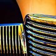 1939 Studebaker Champion Grille Print by Carol Leigh