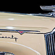 1941 Packard Hood Ornament Print by Jill Reger