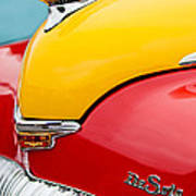 1946 Desoto Skyview Taxi Cab Hood Ornament Print by Jill Reger