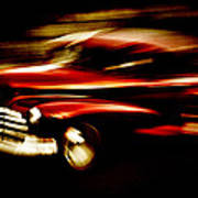 1947 Red Chevrolet Print by Phil 'motography' Clark