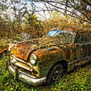 1949 Ford Print by Debra and Dave Vanderlaan
