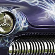 1949 Mercury Eight Hot Rod Print by Tim Gainey