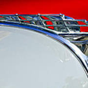 1950 Plymouth Hood Ornament 3 Print by Jill Reger