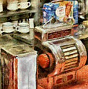 1950's - The Greasy Spoon Print by Mike Savad