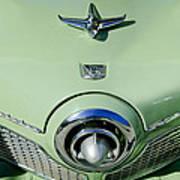 1951 Studebaker Commander Hood Ornament 2 Print by Jill Reger