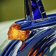 1953 Pontiac Hood Ornament 3 Print by Jill Reger