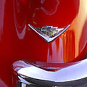 1955 Chevrolet Belair Nomad Emblem Print by Jill Reger