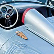 1955 Porsche Spyder  Print by Jill Reger