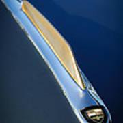 1955 Studebaker President Hood Emblem Print by Jill Reger