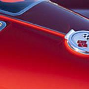 1963 Chevrolet Corvette Split Window Print by Jill Reger
