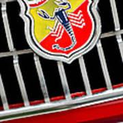 1967 Fiat Abarth 1000 Otr Emblem Print by Jill Reger