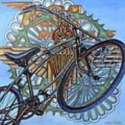 Bsa Parabike Print by Mark Howard Jones