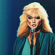 Deborah Harry Or Blondie Print by Paul Meijering