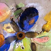 Flowers Print by Odilon Redon