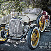 Ford Roadster Print by Louise Reeves