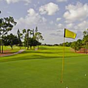 Golf Course Print by M Cohen