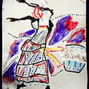 Kiganda Dance - Uganda Print by Gloria Ssali
