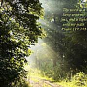 Light Unto My Path Print by Thomas R Fletcher