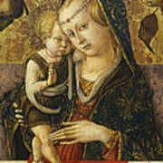 Madonna And Child Print by Carlo Crivelli