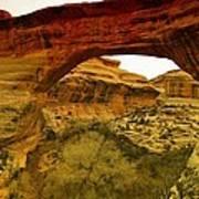 Natural Bridge Print by Jeff Swan