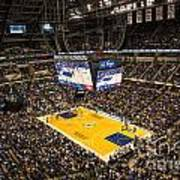 Pacers Indiana Print by David Haskett