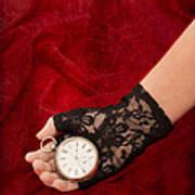 Pocket Watch Print by Amanda Elwell