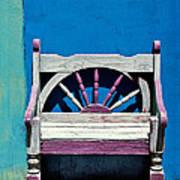 Santa Fe Chair Print by Elena Nosyreva
