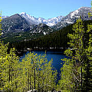 Spring At Bear Lake Print by Tranquil Light  Photography