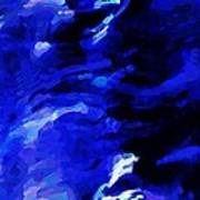 Storm At Sea Print by Sarah Loft