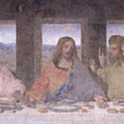 The Last Supper Print by Leonardo Da Vinci