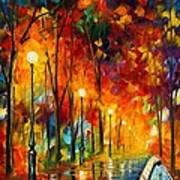 The Symphony Of Light Print by Leonid Afremov
