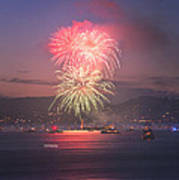2014 4th Of July Firework Celebration.  Print by Jason Choy