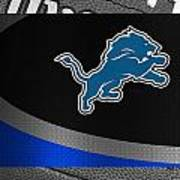 Detroit Lions Print by Joe Hamilton